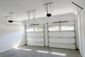 Delighful Garage Door Opener Installation Interior View Of 2 Car Residential With Intended Models Ideas