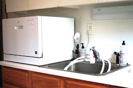 image of countertop dishwashers review