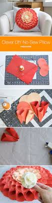 DIY No Sew Pillows - How to Make No Sew Pillows