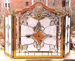 outdoor fire pit screen replacement stained glass fireplace screens gas insert