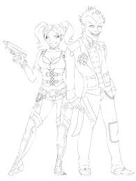 Joker Coloring Pages Batman And Joker Coloring Pages Batman And