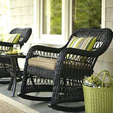 amazing outdoor patio pillows for wicker rocking chair with brown patio cushions plus pillows for outdoor
