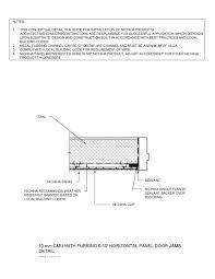 door jamb detail plan. Nichiha Detail Finder Door Jamb Plan S