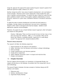 reflection paper about nature