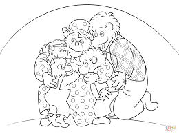 Small Picture Berenstain Bears coloring pages Free Coloring Pages