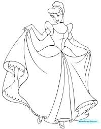 Cinderella Coloring Pages Majestic Coach Ball Page Book Pdf 2015