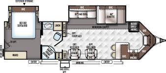 travel trailer floor plans. 30WFKSS Flagstaff V-Lite Travel Trailer Floor Plan By Forest River Plans N