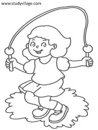 Small Picture Free coloring pages of physical fitness Coloring page
