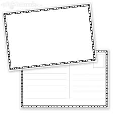 Postcard Template Free Printable