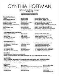 Arts Resumes Performing Arts Series Resumes Jan 26 Sample Resume