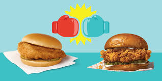 Popeyes Chicken Sandwich Calories Vs Chick Fil A Which Is