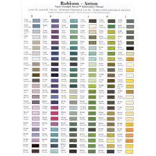 Robison Anton Rayon Embroidery Thread 1100 Yards 1000 Metres