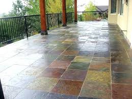exterior floor tile a finished deck with waterproof membrane tiles designs porch car ceramic design attractive
