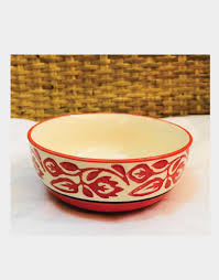 Ceramic Bowl Designs Orange And White Ceramic Bowl Smallest