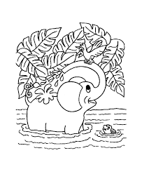 Small Picture Jungle Coloring Pages Coloring Kids