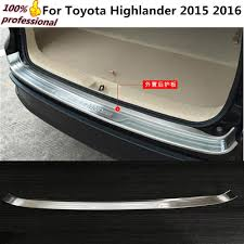 Car body External Rear Bumper trim frame styling detector ...