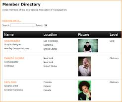 Member Directory Gadget Wild Apricot Help