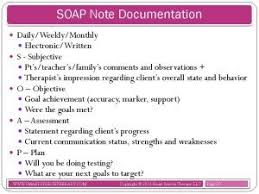 Soap Note Examples Counseling - Kleo.beachfix.co