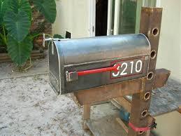 mailbox posts metal. Metal Custom Mailbox Popular Posts E