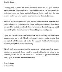 How To Write A Recommendation Letter For A Teacher 15 Letter Of Recommendation For A Teacher Free Pdf Doc