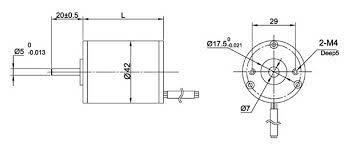 nema 17 round brushless dc motor wiring diagram