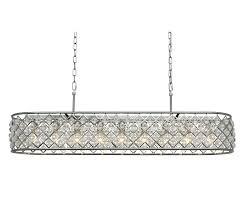 brushed nickel crystal chandelier inch rectangular crystal chandelier brushed nickel regina brushed nickel crystal chandelier