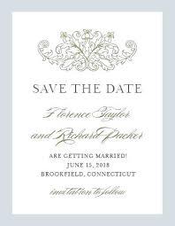 Save The Date Invite Wedding Invitation Etiquette Save The Date