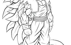 Dragon Ball Z Coloring Pages Goku Super Saiyan God Of 4 5 Games A