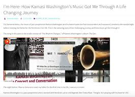 published samanta helou hernandez personal audio essay on meeting my father for the first time and how kamasi washington s music