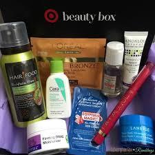 target may 2016 beauty box review spring fling
