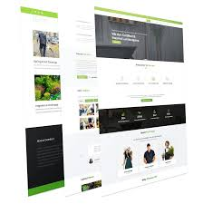 business services template lawn services business joomla template garden