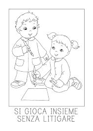 Ispirazione Disegno Di Bambina Colorato Avec Disegni Di Bambini Che