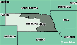 Where Is Area Code 402 Map Of Area Code 402 Omaha Ne