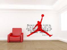 Michael Jordan, Inspirational Quote, Basketball - Decal, Sticker, Vinyl,  Wall,