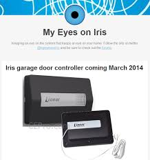 linear z wave garage door openerLowes Iris Garage Door Controller  Living with Iris