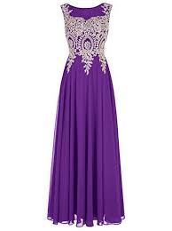 New Tideclothes <b>ALAGIRLS</b> Long Applique Prom Dress See ...