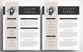 Resume Template 4 Pack Template