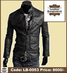 black color bike slim pure leather jacket leather desh
