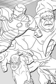 Small Picture Iron Man Coloring Page Avengers Activities Marvel Kids