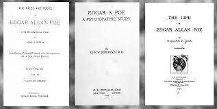 the book shelf over tales and poems of edgar allan poe to edgar allan poe a psychopathic study by john w robertson 1922