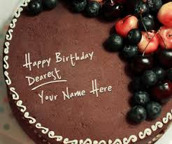 Birthday cakes with name pix ~ Birthday cakes with name pix ~ Images about write name on birthday cakes on we heart it see