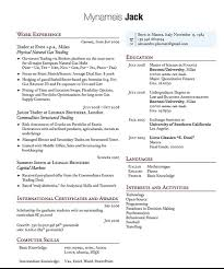 2 Column Resume Template Commily Com