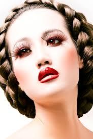 you soon fashion dramatic makeup