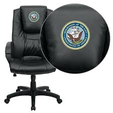 high back black leather overstuffed executive office chair. flash furniture hercules high back big reclining office chair americas navy embroidered black leather overstuffed executive b