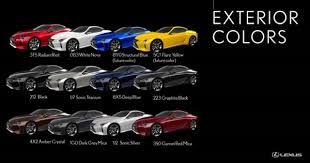 The Lexus Lc In Color North Park Lexus At Dominion Blog
