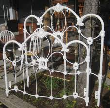 Antique Wrought Iron Bed Frame Queen | Beautiful Bedding and Beds in ...