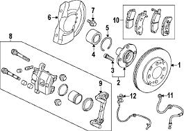 parts com® mitsubishi discfr brake partnumber 4615a105 2014 mitsubishi mirage de l3 1 2 liter gas front brakes