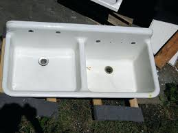 used cast iron kitchen sinks for sale old vintage sink drainboards