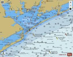 Matagorda Bay And Approaches Marine Chart Us11316_p128