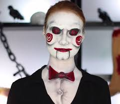 billy the puppet saw 15 diy inspired makeup inspirations